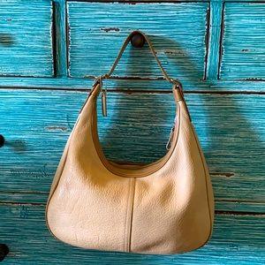 Coach Vtg. Pebbled Leather Hobo Bag/Purse